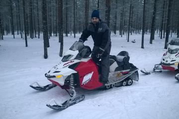 Snowmobile Safari and Ice Fishing Experience from Rovaniemi