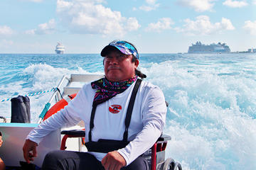 Wheelchair Accessible Snorkel Cozumel - Adapted Tour Handicapped