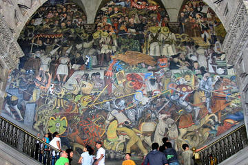 Mexico City Mural Art Small-Group Walking Tour