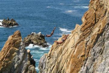 Excursión por la costa de Acapulco: Clavadistas por la noche
