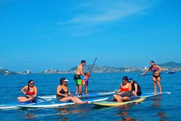 Stand Up Paddleboarding Lesson in Acapulco