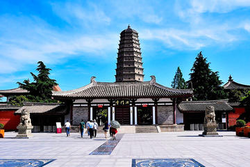 Day Trip from Xian including Qianling Mausoleum and Famen Temple