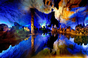Guilin Highlight Private Tour of Giant Pandas, Reed Flute Caves, Mt...