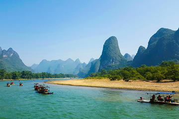 Li River Cruise Tour of Yangshuo and Countryside Tour