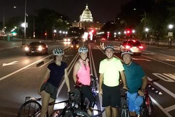Private DC Monuments at Night Biking Tour