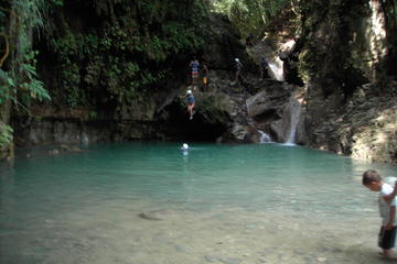 Waterfalls of Damajagua from Puerto Plata