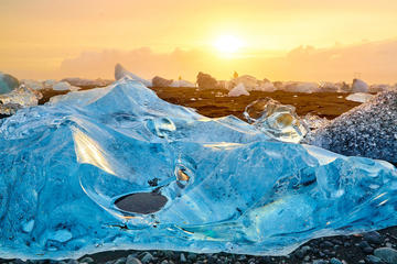Private Glacier Lagoon Day Trip from...