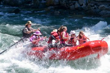 Day Trip Upper Skagit Introductory Whitewater Rafting Trip near Marblemount, Washington