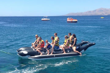 10-Minute Experience on Banana Boat in Puerto del Carmen
