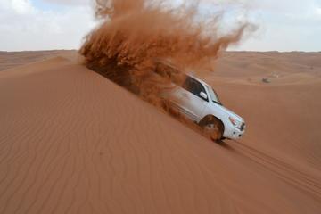 Morning Desert Safari Dubai with Dune Bashing And Sandboarding