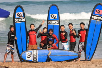 Surfing Lesson by Dekom with Relaxation Time at Halo Bali Spa