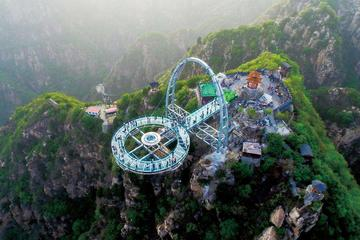 Shilinxia Glass Sightseeing Platform Private Tour with English Speaking Driver