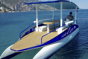 Private Electric Car with Solar Boat Tour: from Nice to Beaulieu