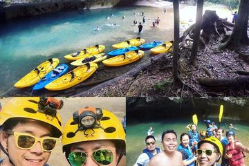 Cave Kayaking and Zipline Combo Tour...
