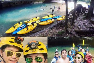 Cave-kayaking and Zipline From Belize...