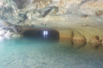 Cave-tubing