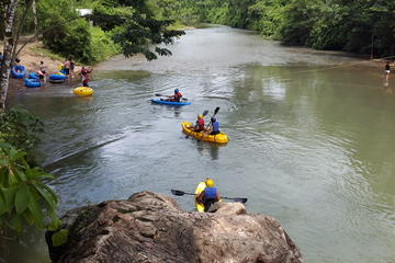 Maya Temples Cave kayaking Ziplines