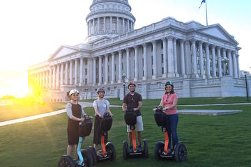 Day Trip Small Group High Roller Segway Tour of Salt Lake City near Salt Lake City, Utah