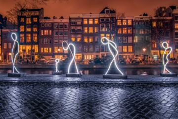 Amsterdam Light Festival Bike Tour