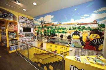 Entrada al Museo de Lego en Praga