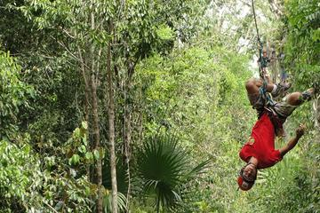 ATV, Ziplines and Cenote Combo Tour at Extreme Adv