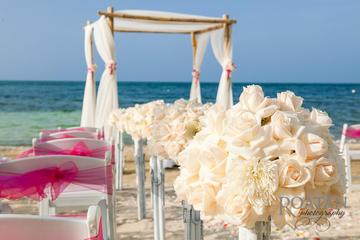 Intimate Carribean Beach Ceremony