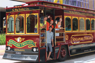 Singapore Trolley Tour: Marina Bay...