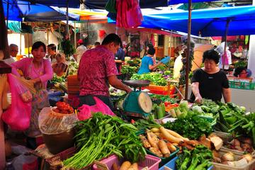 Local Market and Food Walking Tour in...