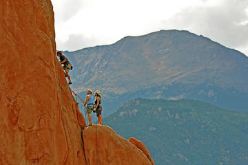 Day Trip Private Rock Climbing at Garden of the Gods, Colorado Springs near Colorado Springs, Colorado
