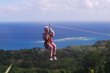 The Big Zipline Trek in Vanuatu from Port Vila