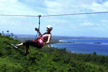 Zipline Canopy Tour in the Vanuatu...