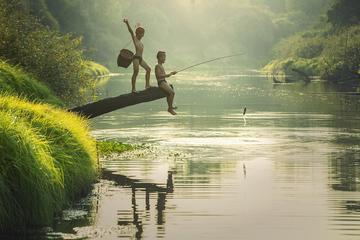 Full-Day Taman Negara National Park with Canopy Walkway, Trekking, Cruise