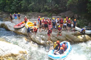 Thrilling White Water Rafting at Kampar River from Kuala Lumpur