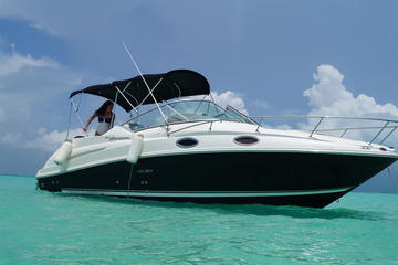 Private Boat Ride Adventure to Isla Mujeres