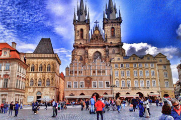 Prague Architecture Private Walking Tour