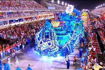 Tribunas en el Carnaval de Río de Janeiro 2017