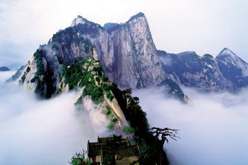 Private Customizable Day Tour of Mountain Huashan with Entrance Cable Shuttle Fee