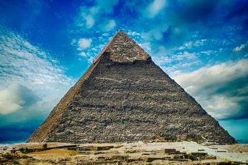 Full Day Pyramids Sphinx and Egyptian Museum private tour