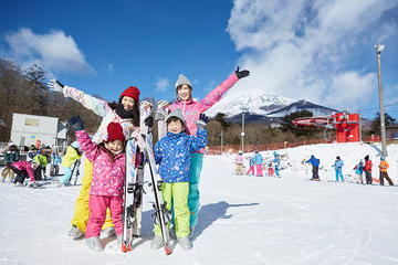 1 Day Ski Tour at Mt Fuji 2nd Station Ski Resort Yeti   Ski lesson available