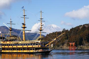 Mt Fuji Day Trip: Pirate Ship of Lake Ashi, Mt Fuji 5th Station and...