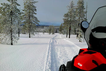 Snowmobile Adventure in Swedish...