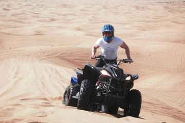 Dubai: Quad Bike Desert Dune Drive