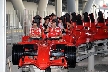 Ferrari World Abu Dhabi Skip-the-Line Tour from Dubai