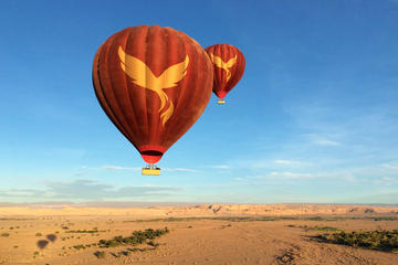 Flug im Heißluftballon über Atacama