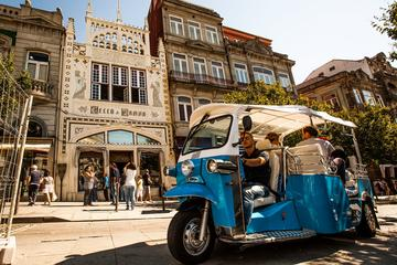 Porto Full Day Tuk Tuk Private Tour with Lunch
