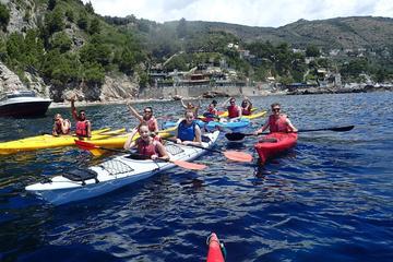 Kayak trip from marina del Cantone