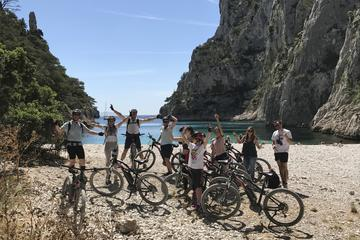 Cassis: Three Calanques Tour by Electric Mountain Bike