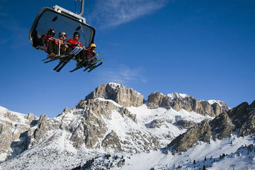 Private Ski Tour in the Dolomites...