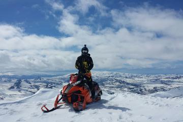 Landmannalaugar Highland Snowmobiling Tour