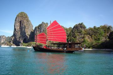 Krabi Bootstouren bei Sonnenuntergang